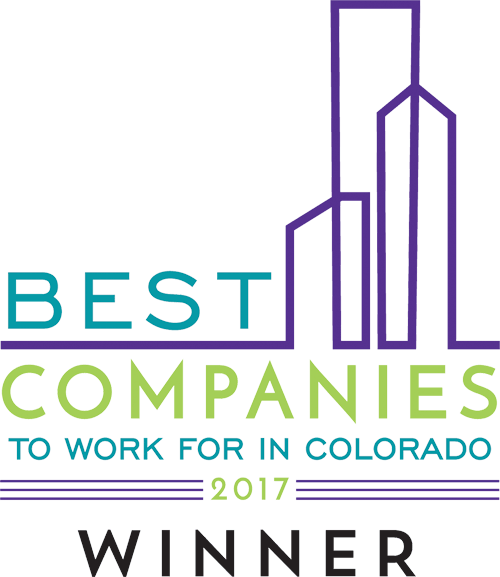 Best Companies to work for in Colorado - 2017 Winner