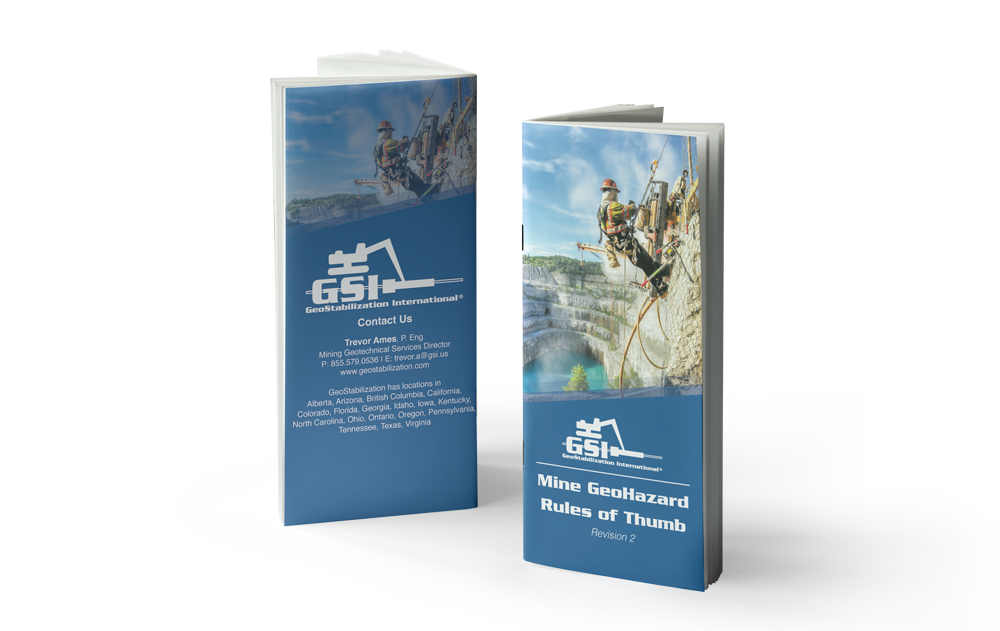 Request a Mine Geohazard - Rules of Thumb Booklet