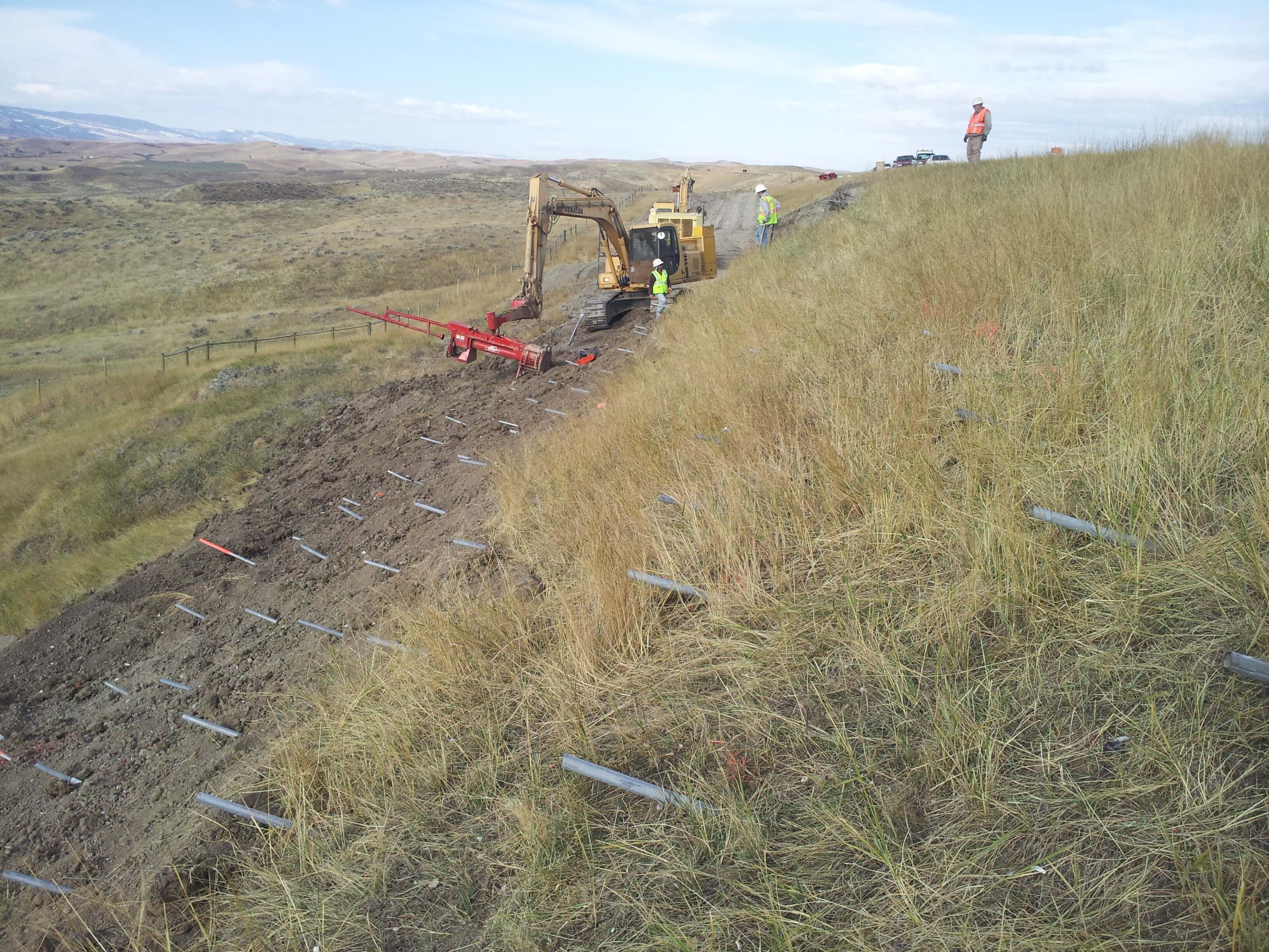 I-90 Slide Repair with Launcher