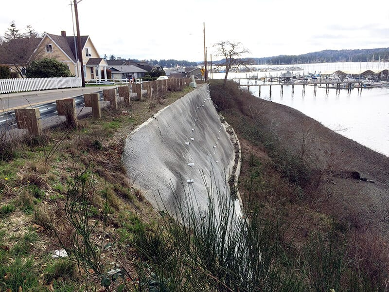 Waterfront Bluff Stabilization