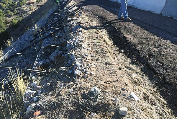 Reinforced Soil Slope Restoration