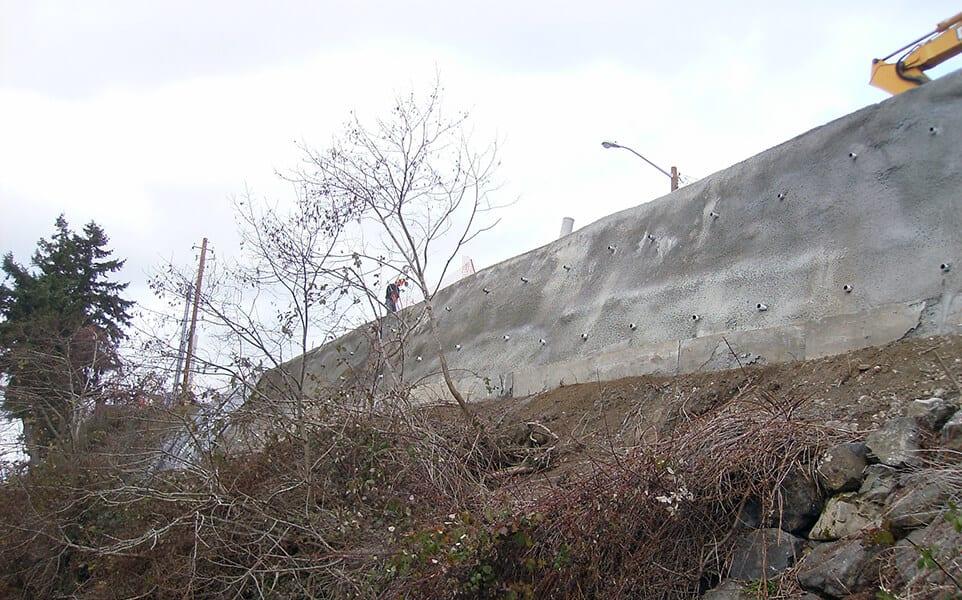 Waterfront Bluff Stabilization