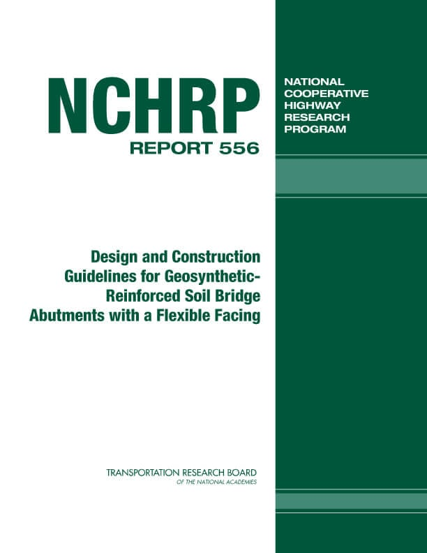 Design and construction guidelines for geosynthetic-reinforced soil bridge abutments with a flexible facing