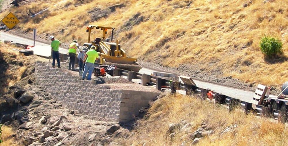 Bridge Abutments & Retaining Walls