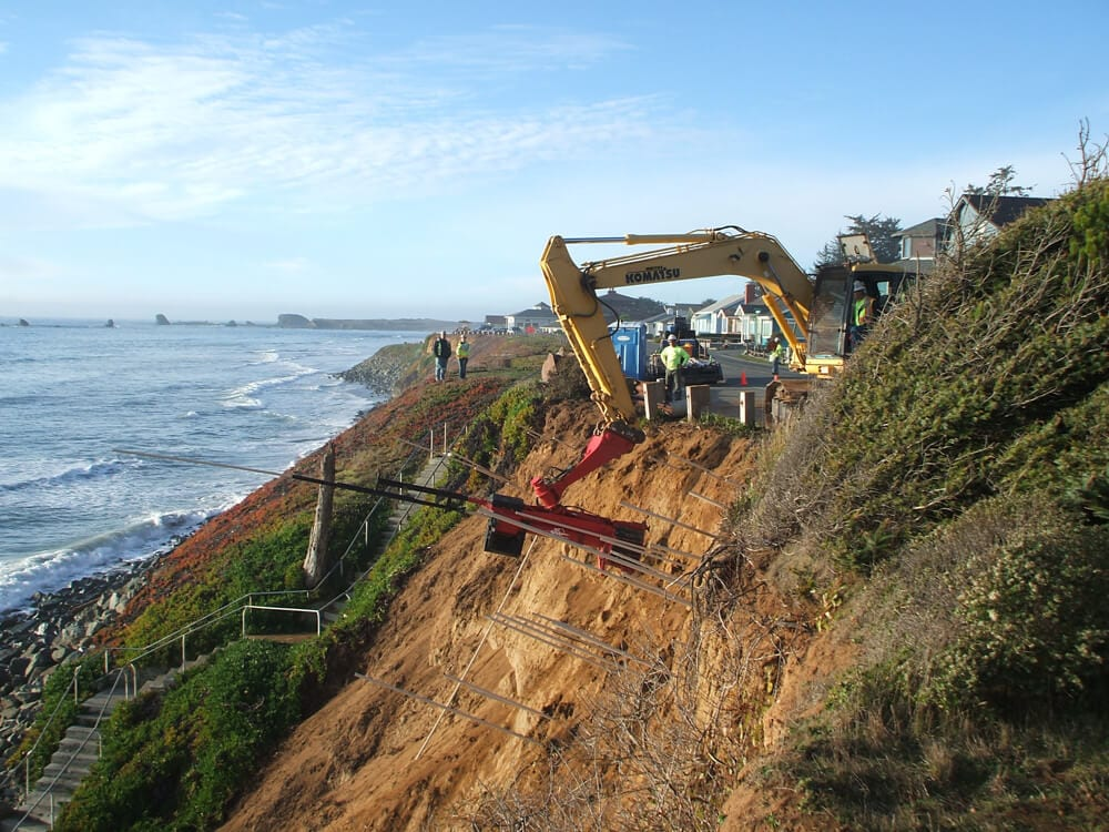 Coastal Bluff Protection, Riparian/Stream Bank Stabilization