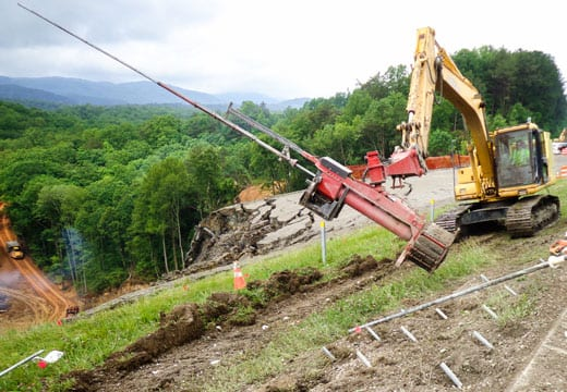 I-75 Emergency Landslide Repair