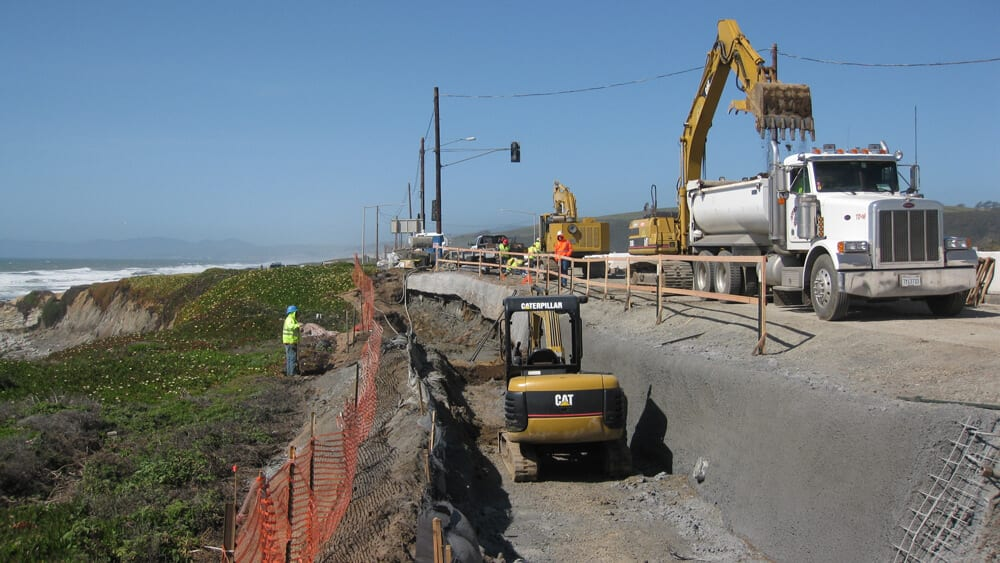 Seaside Bluff Stabilization, Riparian/Stream Bank Stabilization