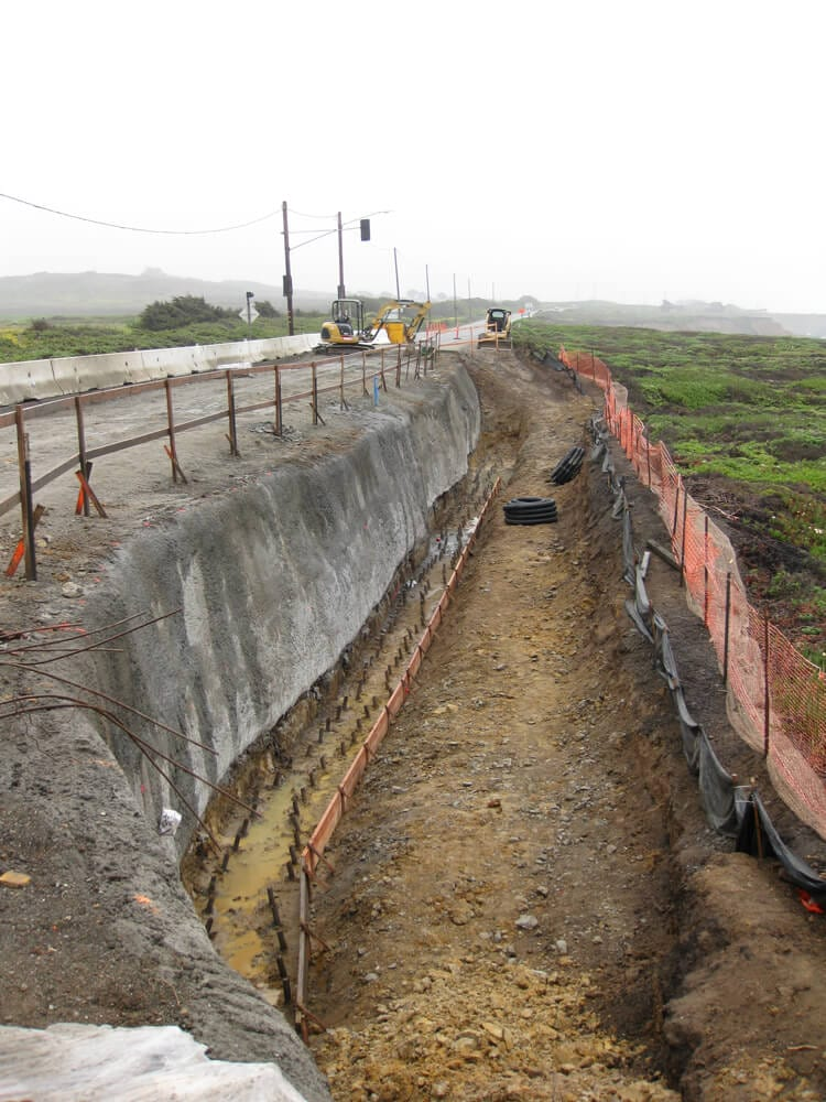 Seaside Bluff Stabilization