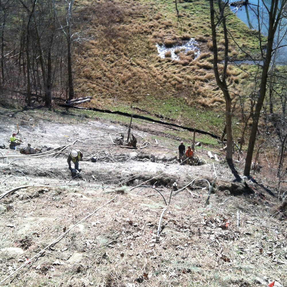 Pipeline Landslide Repair