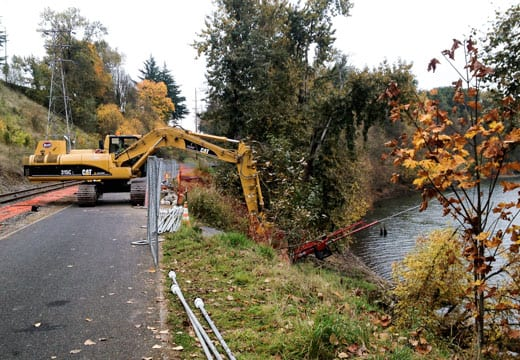 Bicycle Trail Slope Stabilization
