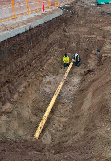 Micropile Shoring, Temporary Shoring