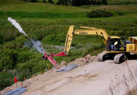 Failed Road Fill Slope Stabilization