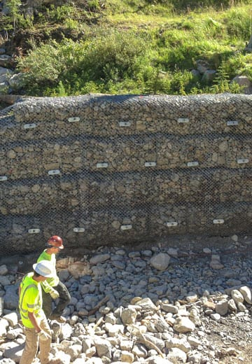 Gabion Wall Repair
