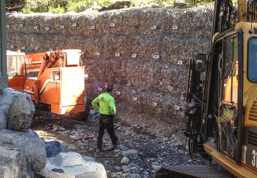 Gabion Wall Repair