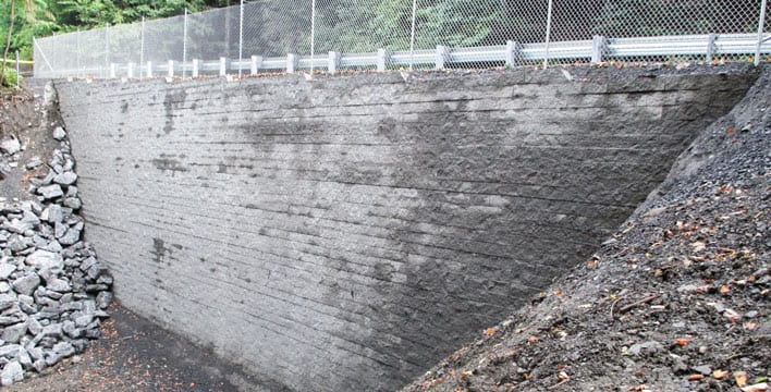 Geosynthetically Confined Soil® (GCS®) Walls