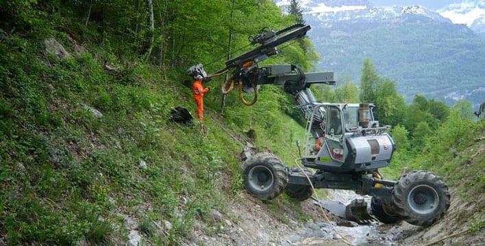 Spider Excavators/Drills