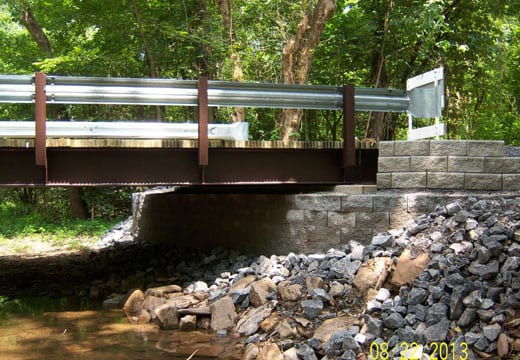 Limited Access Bridge Replacement