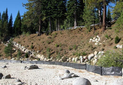 Lakeshore Bluff Stabilization