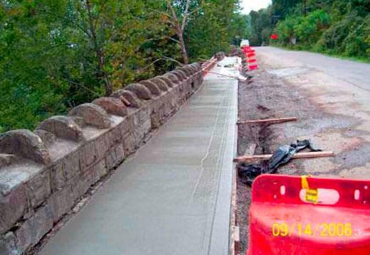 Historic Stone Wall Repair