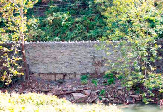 Historic Stone Wall Repair