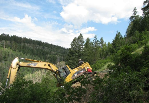 Natural Gas Pipeline Slide Repair