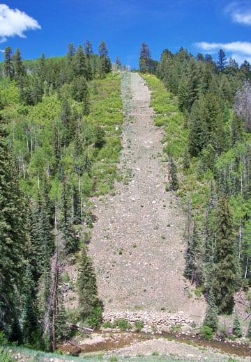 Natural Gas Pipeline Slide Repair