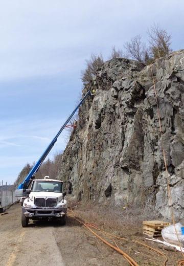 I-89 Rockfall Mitigation, Rockfall Mitigation