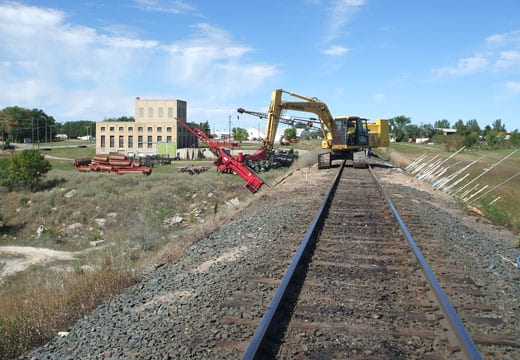 Railroad Track Stabilization