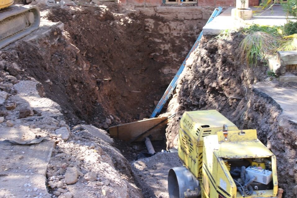 Soils Bearing Capacity Improvement for Historic Structure Foundation