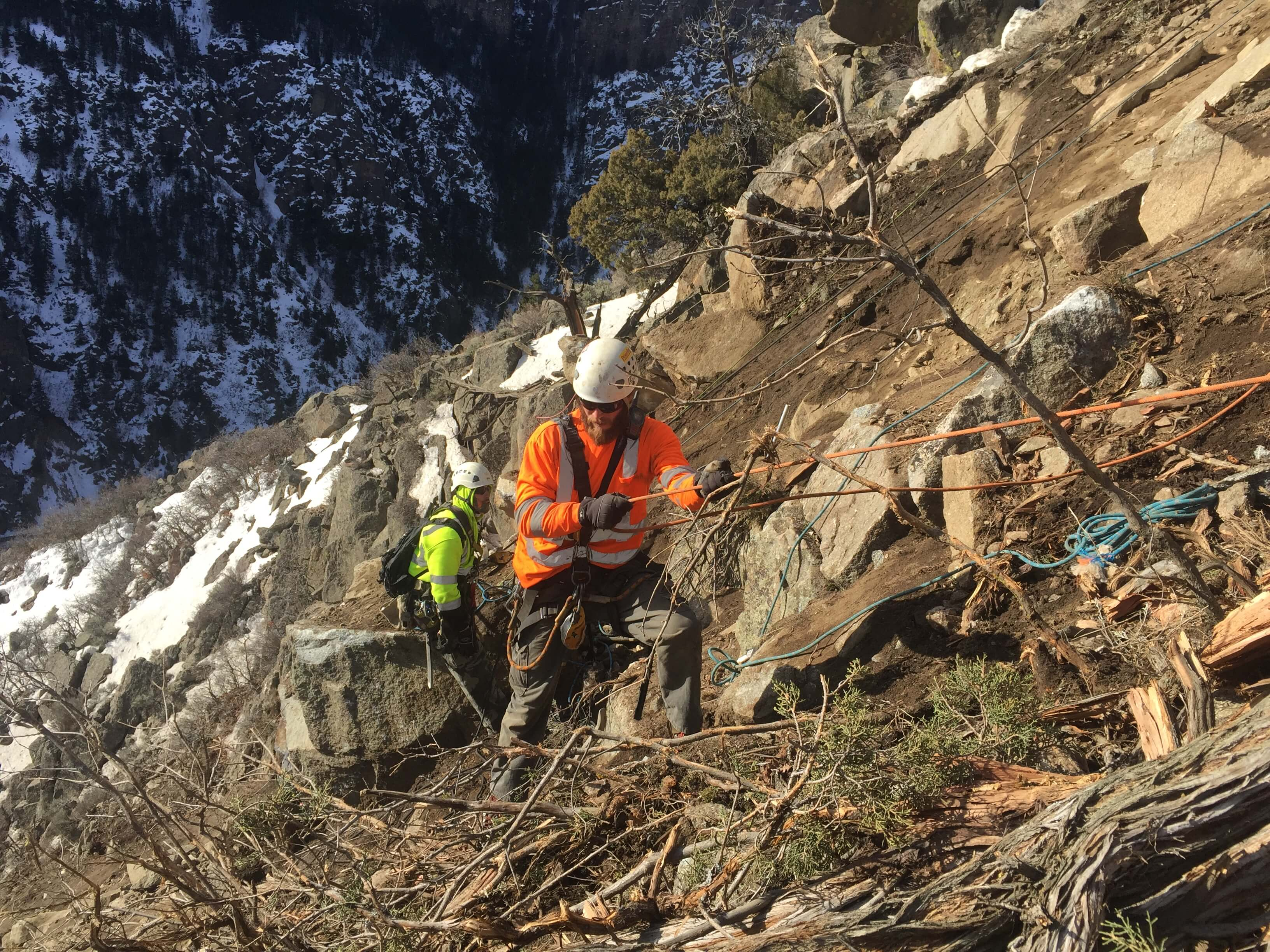 CDOT Looks to GeoStabilization When I-70 Is Closed By Rockfall Event