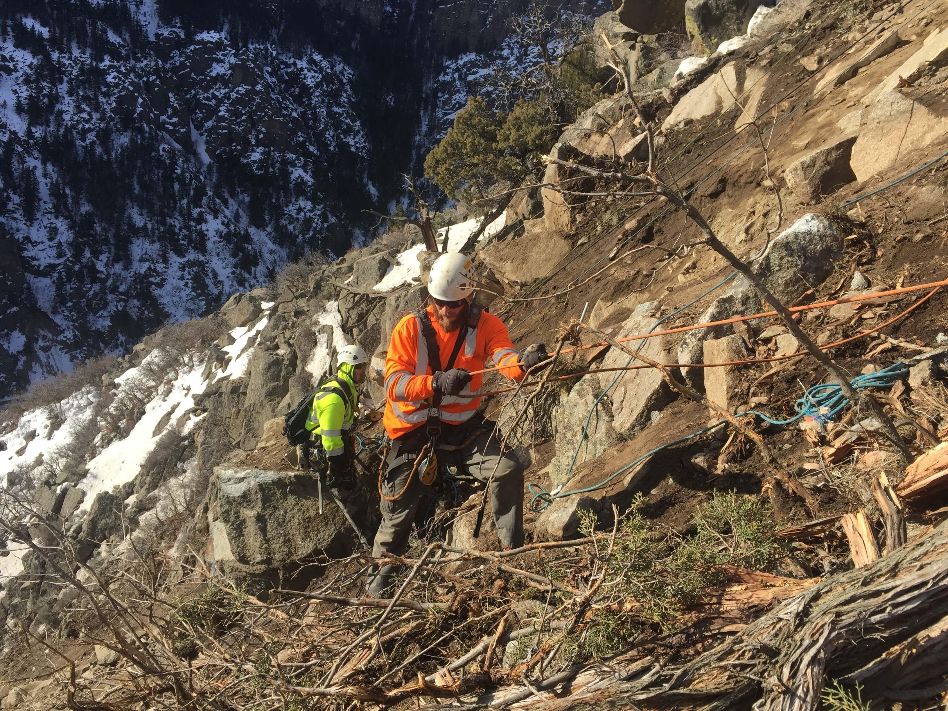 I-70 Rockfall Stabilization