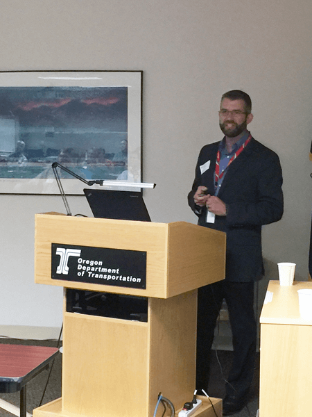 GeoStabilization, OSU, and ODOT Present Geohazard Workshop