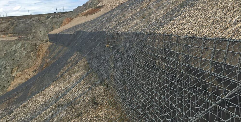 Mine GCS® Retaining Walls