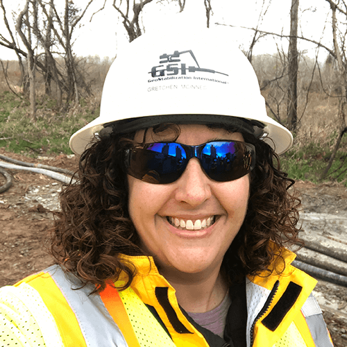 Gretchen McInnes, P.E., Project Development Engineer