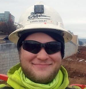 Eanan Gidley, Field Engineer