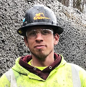 Tannon Hillis, E.I.T., Field Engineer