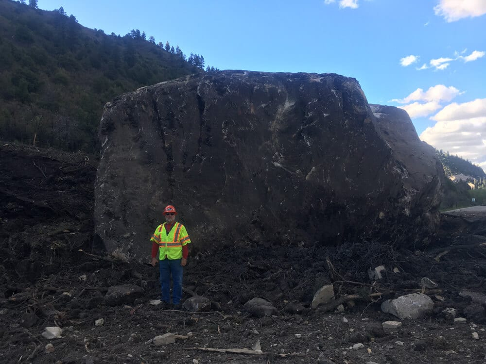 Highway 145 Rockslide Mitigation