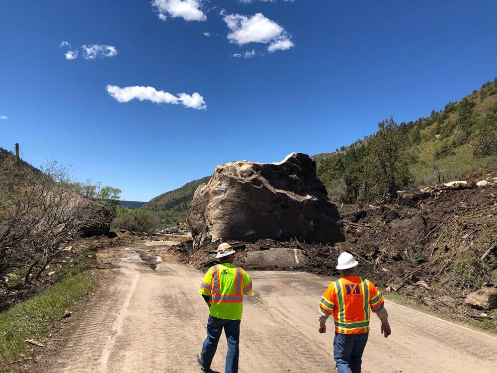 Highway 145 Rockslide Mitigation