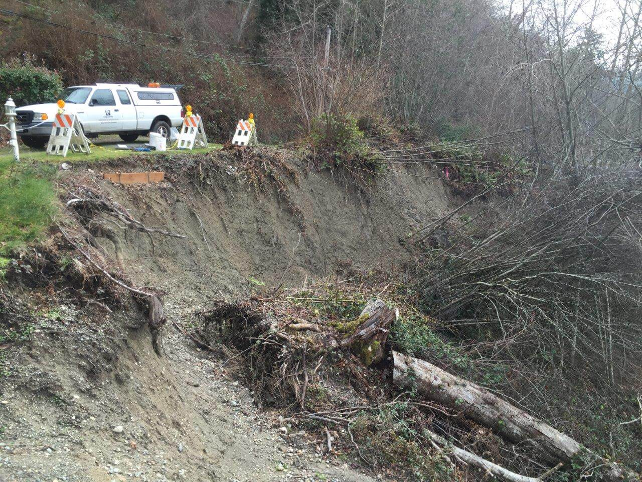 Vashon Island, Wash. Landslide Remediation