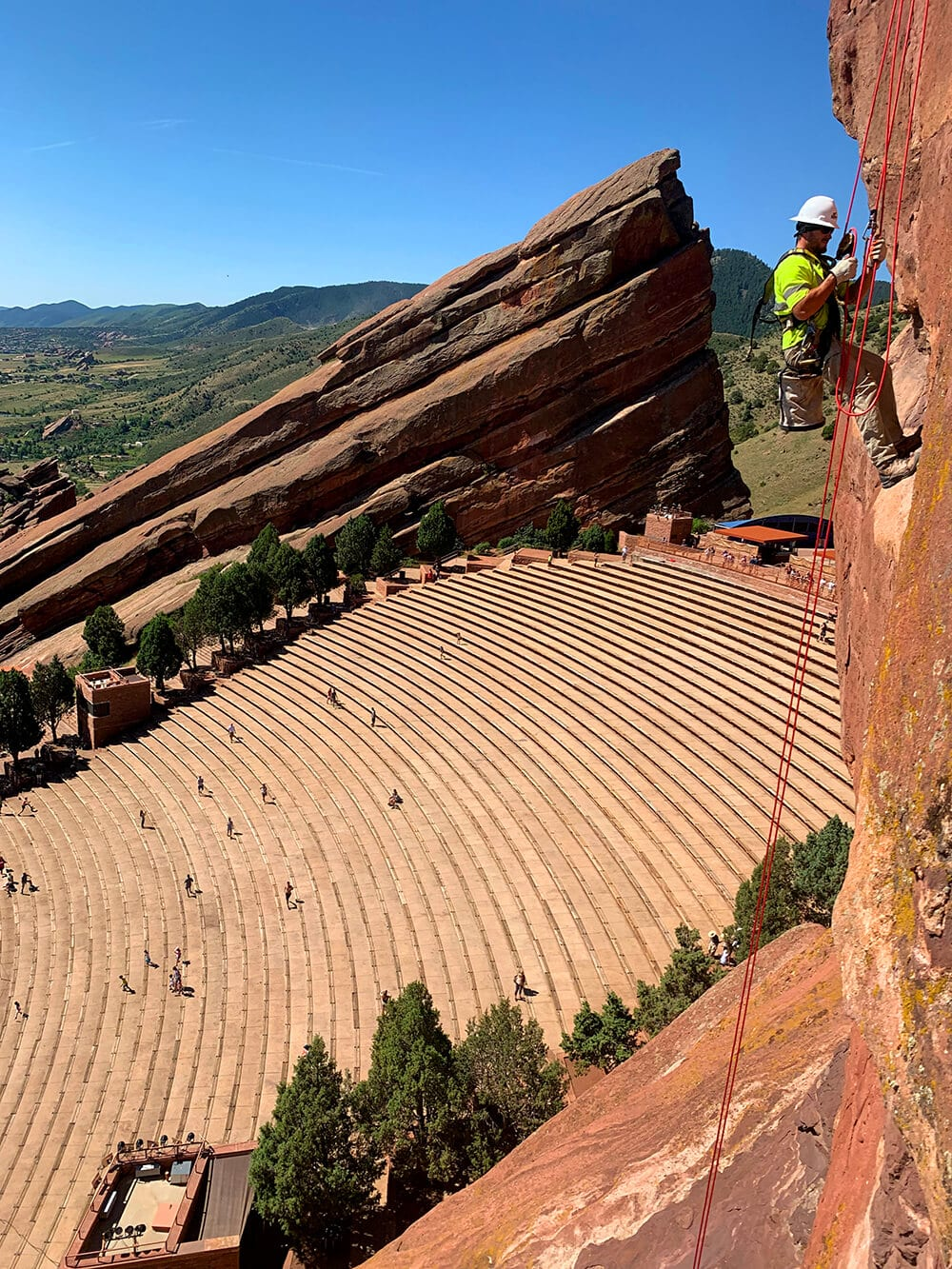 Red Rocks Amphitheatre Rockfall Mitigation