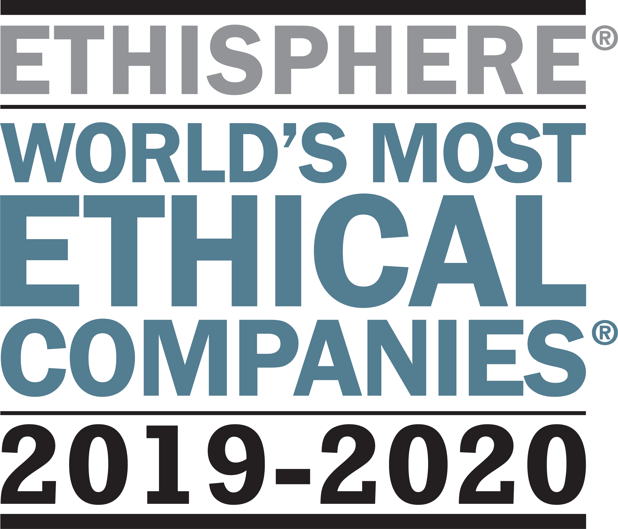 Worlds Most Ethical Companies 2019-2020