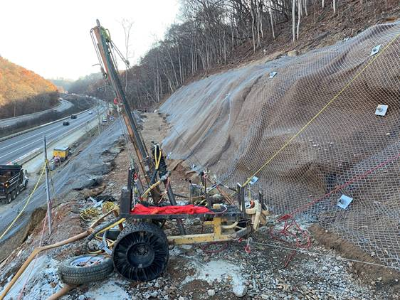 I-81 Emergency Rockslide Mitigation
