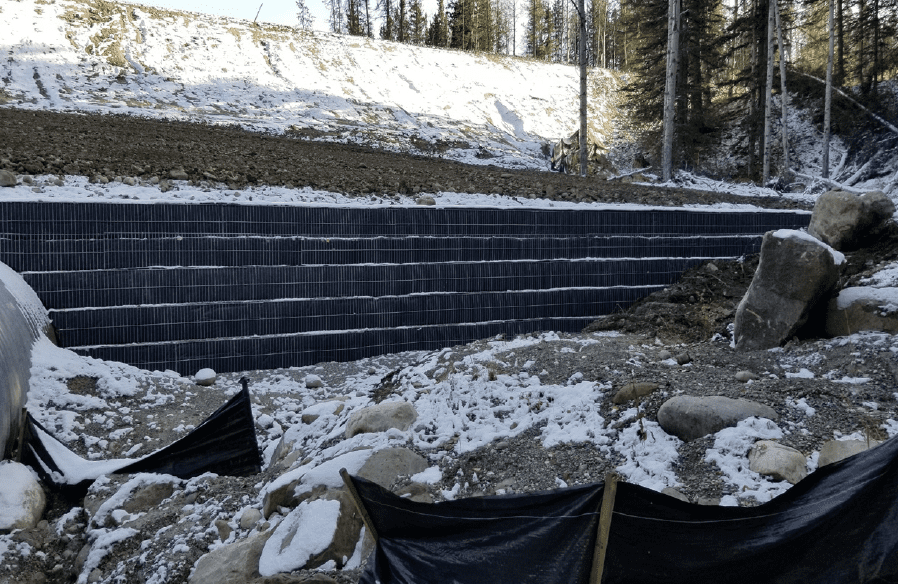 Rail Spur GCS Walls