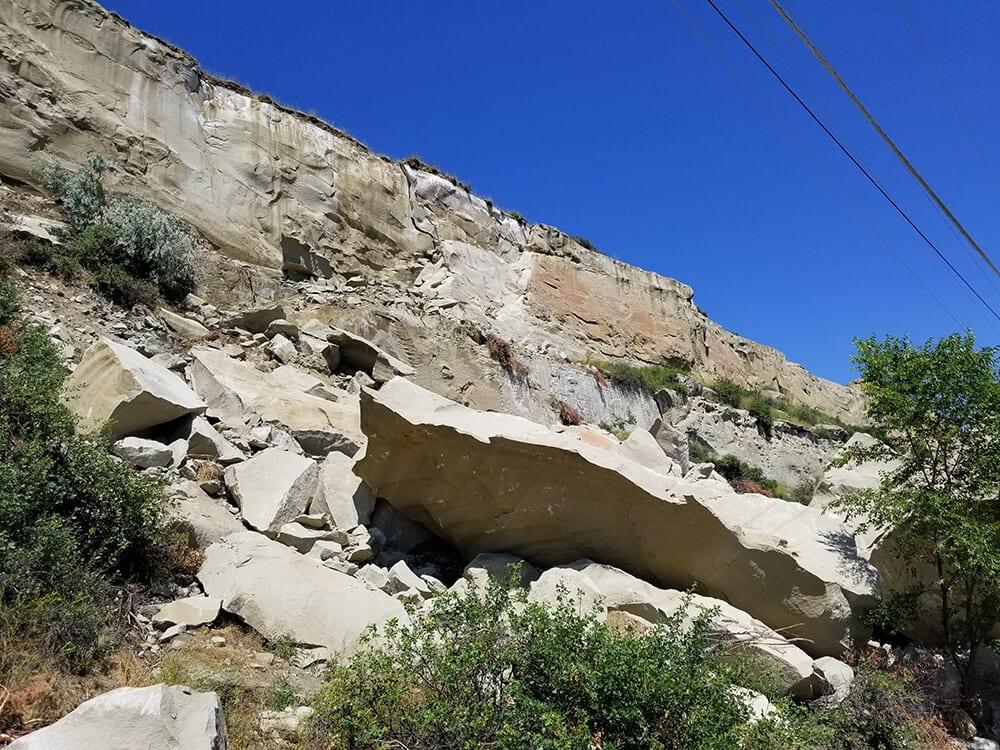 Residential Rockfall Mitigation