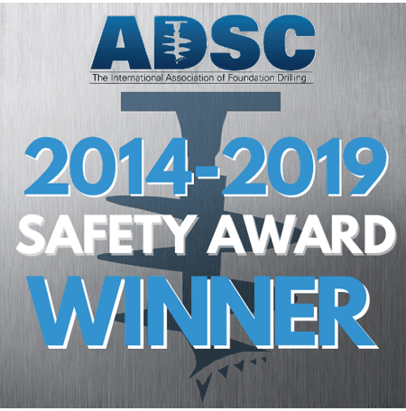 Safety Awards ADSC 2014-2019
